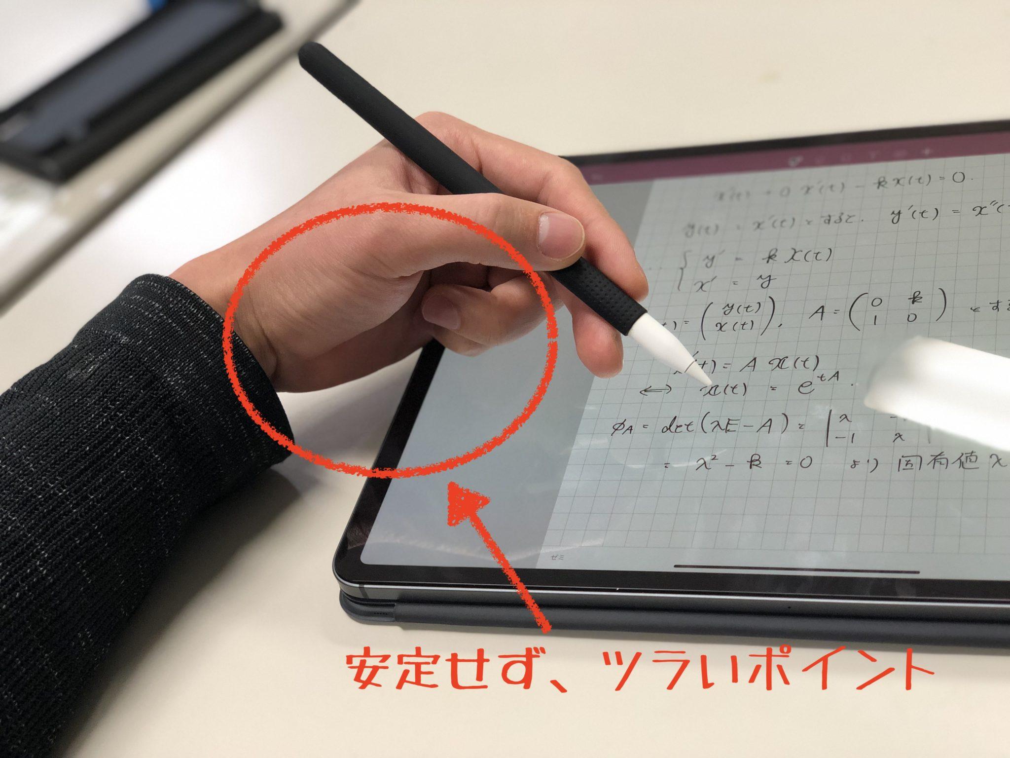 iPad Proで文字を書く