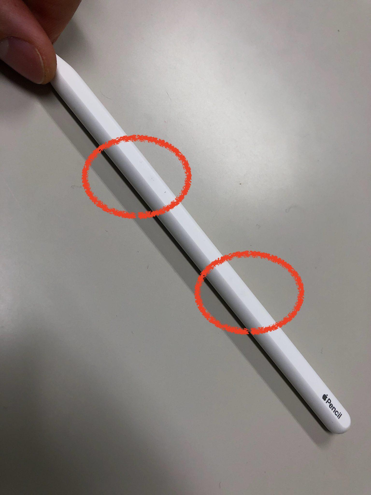 iPad Proを傷つけるApple Pencil